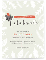 Fall Foliage Party Invitations
