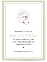 Sea Chart Too Party Invitations