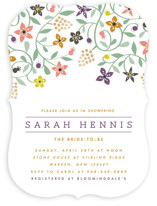 Botanical Affair Party Invitations
