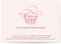 Sweet Success Party Invitations