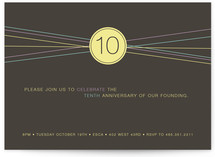 Simply 10 Party Invitations