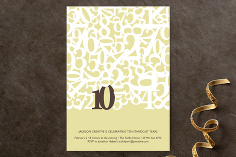 Standout Party Invitations