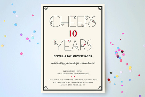 Exceptional Celebration Party Invitations