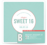 Bright Rays Party Invitations