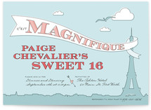 C&#039;est Magnifique Party Invitations