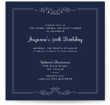 Curlique Party Invitations