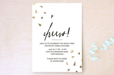 Cheers Party Invitations