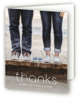 It's a Boy Pregnancy Announcements Thank You Cards