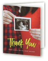 Keeping it Real Pregnancy Announcements Thank You Cards
