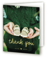 Cuteness In Progress Pregnancy Announcements Thank You Cards
