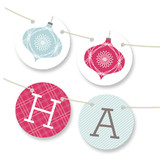 Elegant Joy Bunting Banners