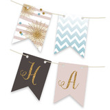 Glitter Bling Bunting Banners