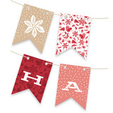 Pastoral Noel Bunting Banners