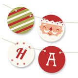 Happy Santa Bunting Banners