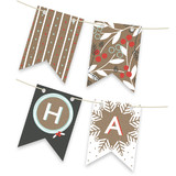 Berry Kraft Bunting Banners