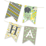 Animals Born Free Personalizable Bunting Banners