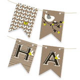 Nesting Bird Bunting Banners