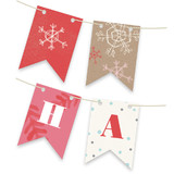 Krafted Winter Bunting Banners