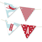 The Birthday Plane Bunting Banners