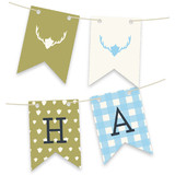 Fireside Feast Bunting Banners