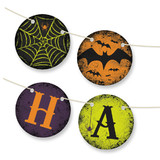 Spirited Halloween Bunting Banners