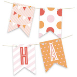 Pink Big Top Circus Bunting Banners