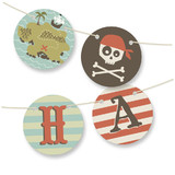 argh! pirates! Bunting Banners