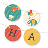 Birthday Balloon Fun Bunting Banners