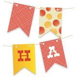 Greatest Circus Bunting Banners