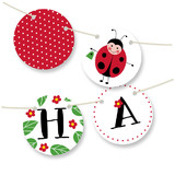 Little Ladybug Bunting Banners