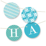 Pinwheel Bunting Banners