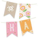 Sweet Clementine Bunting Banners