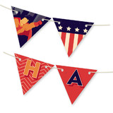 Super Heroes Banner Bunting Banners