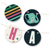 Baby Elephant Bunting Banners