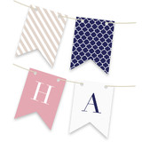 Preppy Bunting Banners