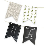 Blackboard Perfection Bunting Banners