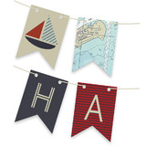 Sea Chart Too Bunting Banners