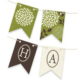 Everything Green Bunting Banners