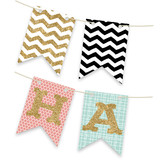 Let's Get This Party Started Bunting Banners