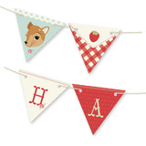 Fancy Fawn Bunting Banners