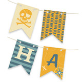 Pirate Party Bunting Banners