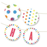 Fun with Color Bunting Banners