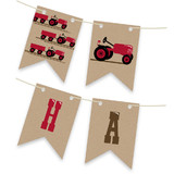 A Tractor Pull Bunting Banners