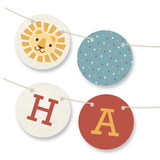 Paper Circus Bunting Banners