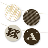 Sophisticated Chevron Bunting Banners