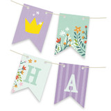 Princess Crown Bunting Banners