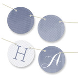 Simply Baby Personalizable Bunting Banners