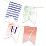 Ginkgo Personalizable Bunting Banners