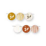 Foliage Thanksgiving Circle Garlands