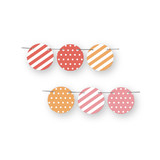 Pink Big Top Circus Circle Garlands